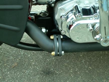 54er Starrahmen mit 1600ccm S&S Motor.